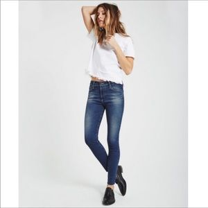 A G the Farrah High-rise Skinny Ankle Jeans  27